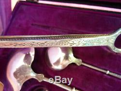 Boulenger Coffret Couverts Service Table Argent Massif Solid Silver Cutlery