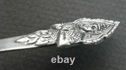 Couverts argent massif Thailande Siam Asian Sterling Silver cuillères fourchette